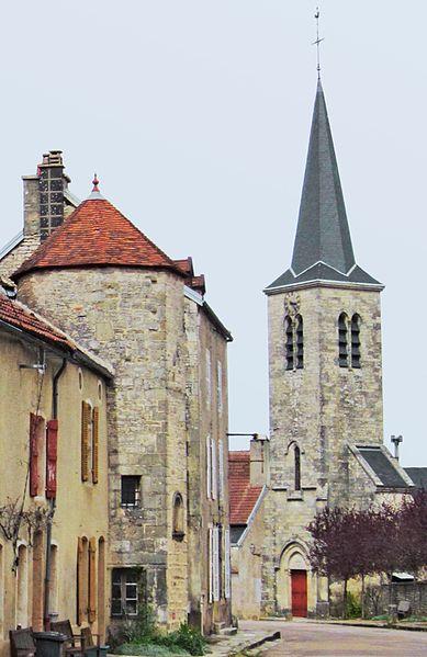 Photo du Monument Historique Eglise situé à Baigneux-les-Juifs