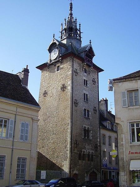 Photo du Monument Historique Beffroi situé à Beaune