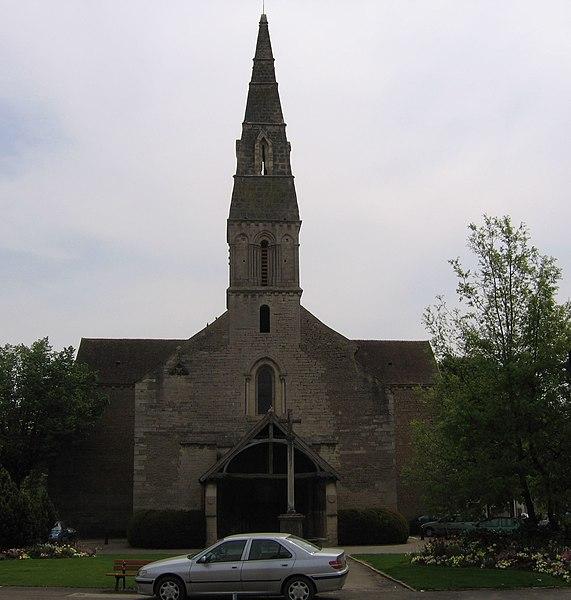 Photo du Monument Historique Eglise Saint-Nicolas situé à Beaune