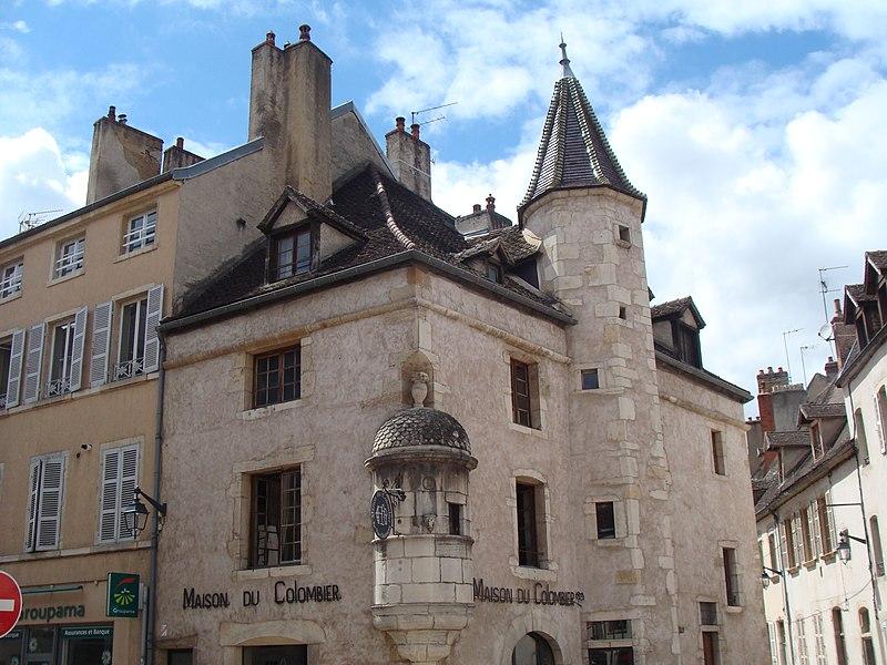 Photo du Monument Historique Maison du Colombier situé à Beaune