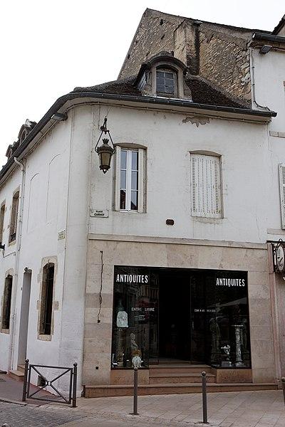 Photo du Monument Historique Maison situé à Beaune