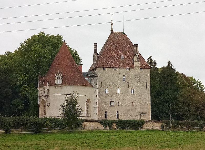 Photo du Monument Historique Château situé à Beire-le-Châtel