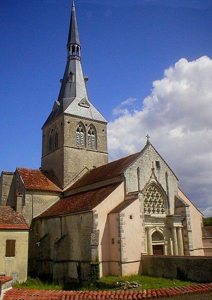 Photo du Monument Historique Eglise situé à Belan-sur-Ource