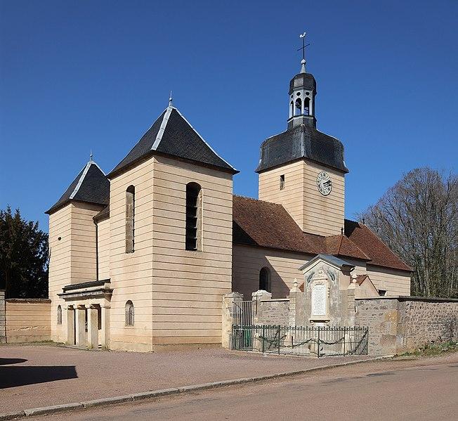 Photo du Monument Historique Eglise Saint-Léonard situé à Bierre-lès-Semur