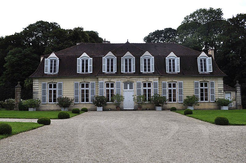 Photo du Monument Historique Château situé à Blagny-sur-Vingeanne