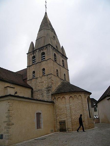 Photo du Monument Historique Eglise situé à Bligny-lès-Beaune