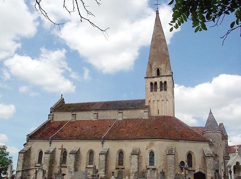 Photo du Monument Historique Eglise situé à Bligny-sur-Ouche