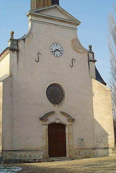 Photo du Monument Historique Eglise Saint-André situé à Broin