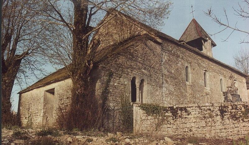 Photo du Monument Historique Eglise Saint-Ambroise situé à Busserotte-et-Montenaille