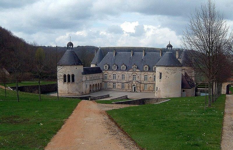 Photo du Monument Historique Domaine du château de Bussy-Rabutin situé à Bussy-le-Grand
