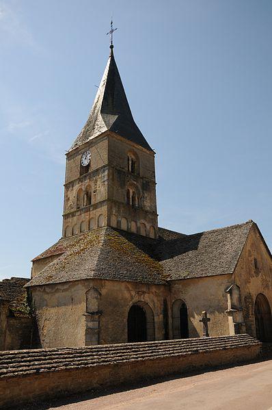 Photo du Monument Historique Eglise et son cimetière situé à Bussy-le-Grand