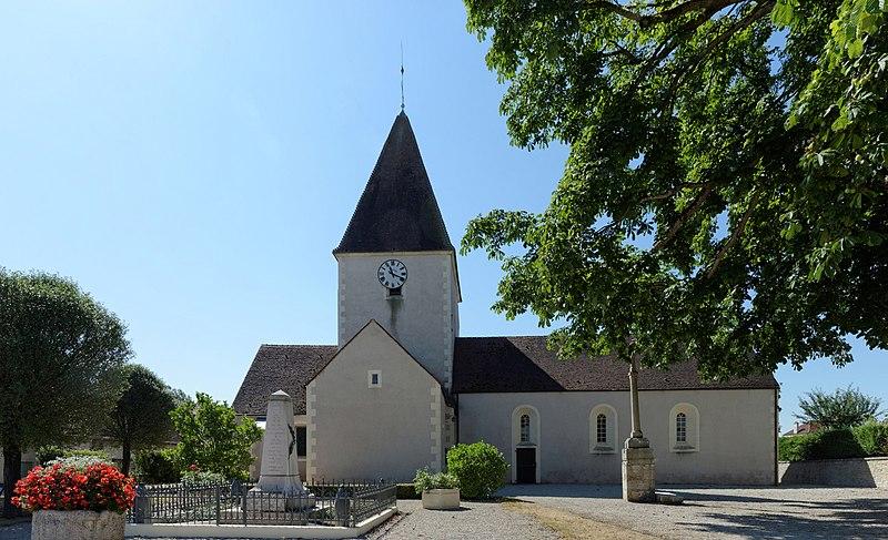 Photo du Monument Historique Eglise situé à Cessey-sur-Tille
