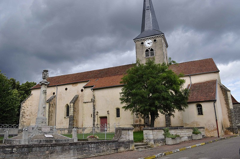Photo du Monument Historique Eglise situé à Champagne-sur-Vingeanne