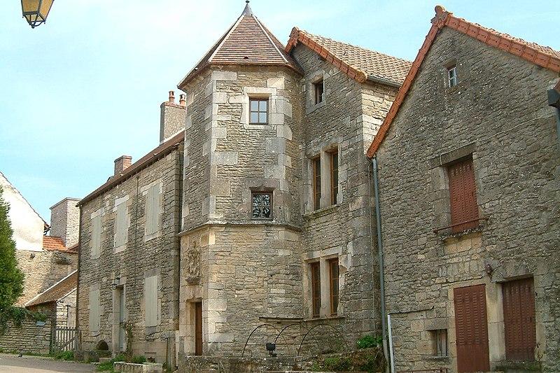 Photo du Monument Historique Maison du 16e siècle dite de Saint-Georges situé à Châteauneuf