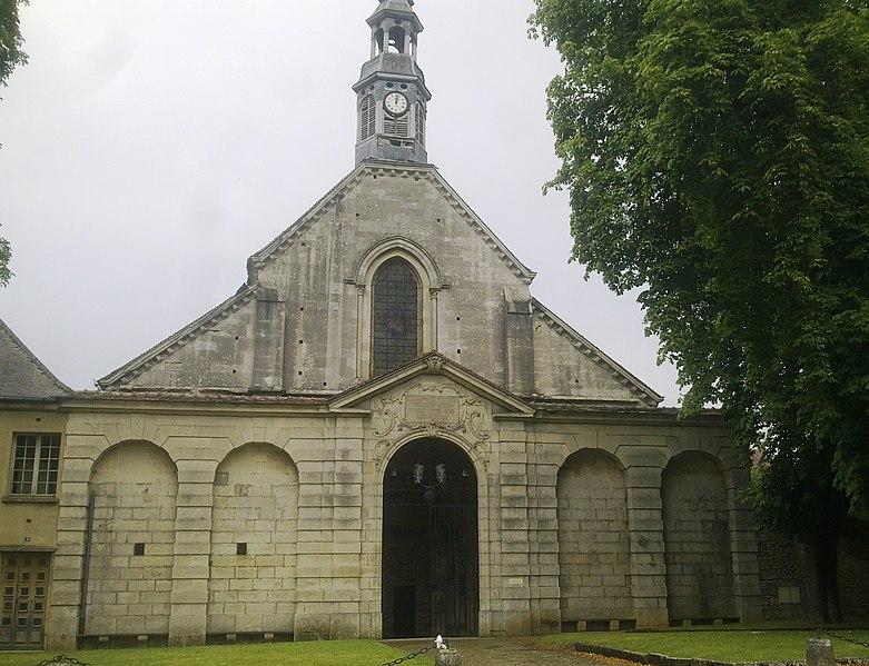 Photo du Monument Historique Eglise des Génovéfains situé à Châtillon-sur-Seine