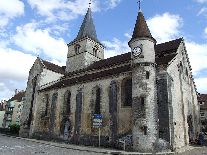 Photo du Monument Historique Eglise Saint-Nicolas situé à Châtillon-sur-Seine