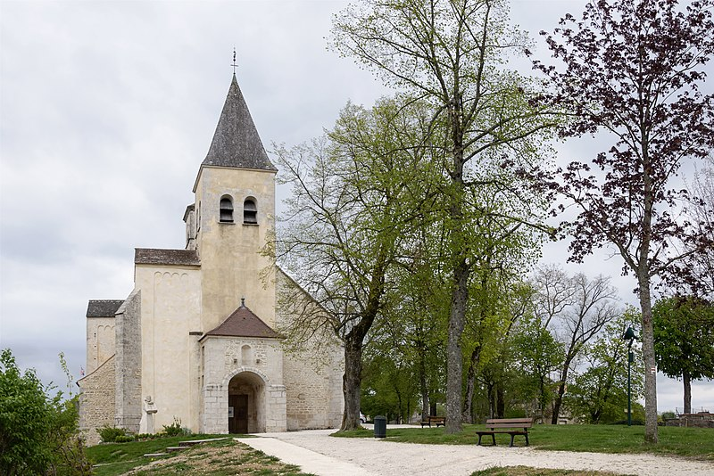 Photo du Monument Historique Eglise Saint-Vorles situé à Châtillon-sur-Seine