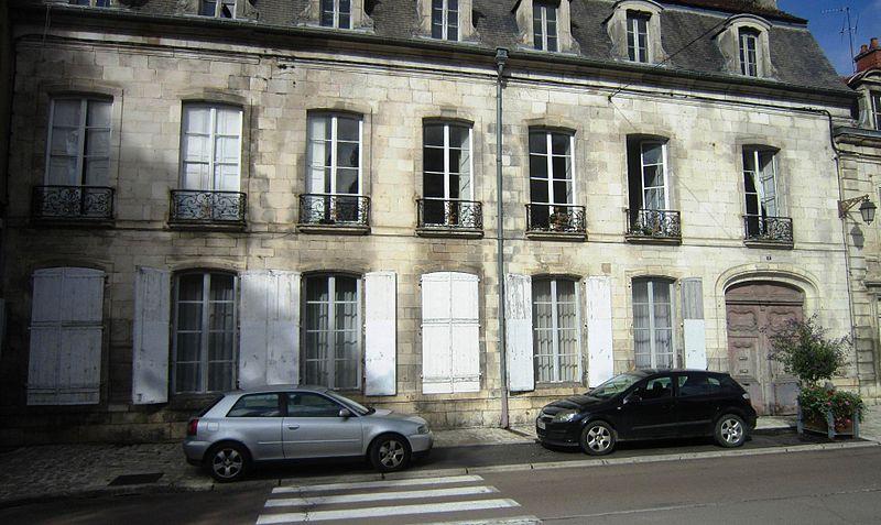 Photo du Monument Historique Hôtel situé à Châtillon-sur-Seine