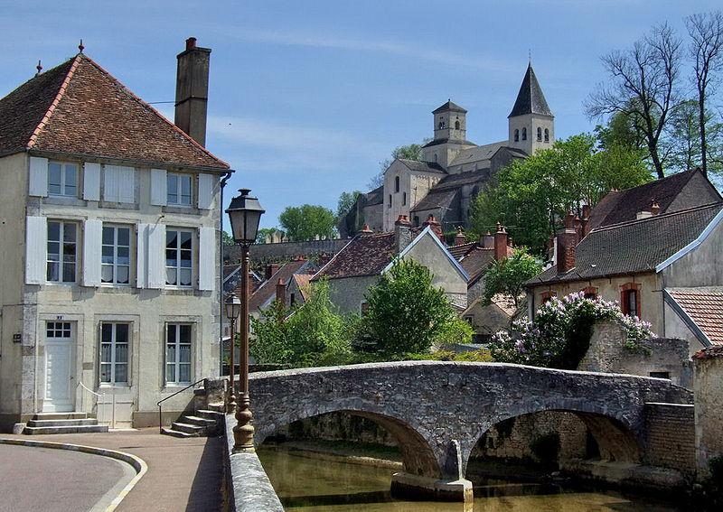 Photo du Monument Historique Pont dit Pont du Pertuis-au-Loup situé à Châtillon-sur-Seine
