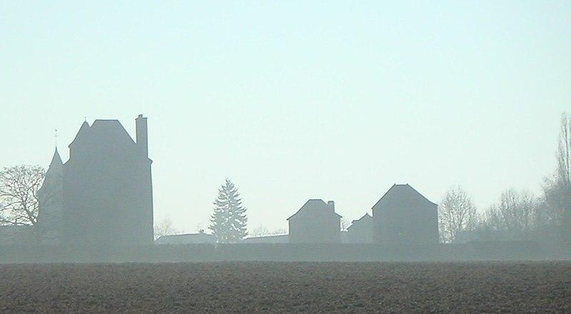 Photo du Monument Historique Château (ruines) situé à Chazeuil