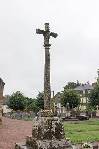 Photo du Monument Historique Croix situé à Clamerey