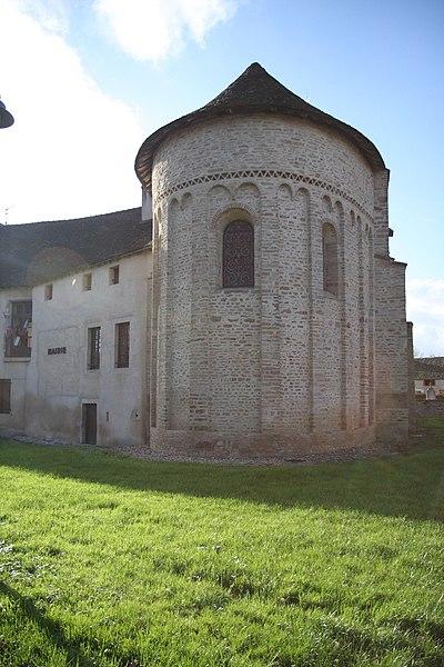 Photo du Monument Historique Eglise situé à Combertault