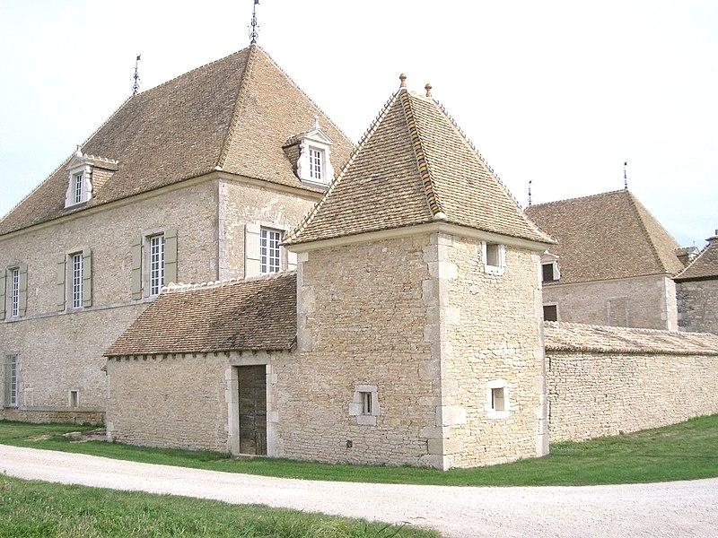 Photo du Monument Historique Château situé à Corcelles-les-Arts