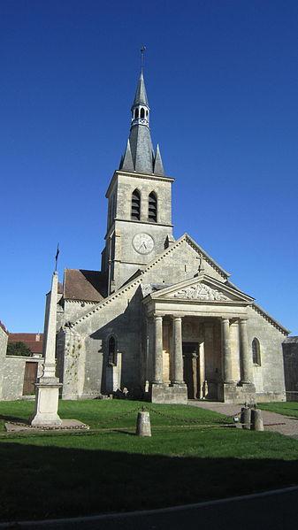 Photo du Monument Historique Eglise situé à Coulmier-le-Sec