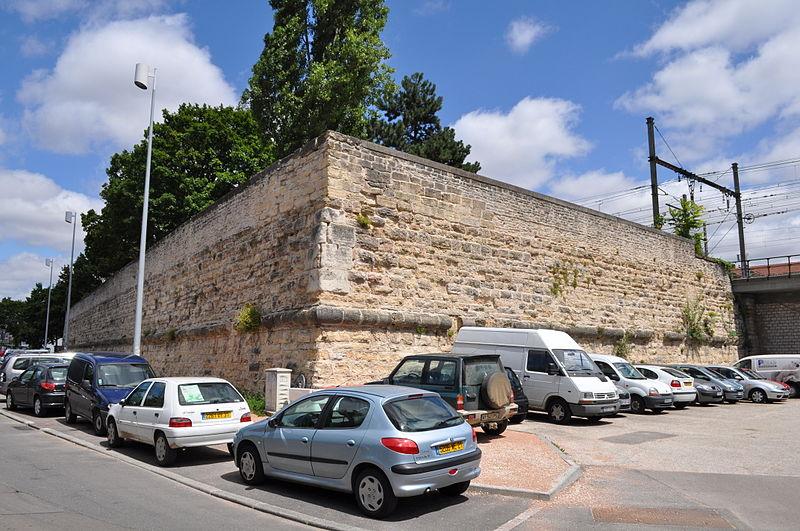 Photo du Monument Historique Bastion de Guise situé à Dijon