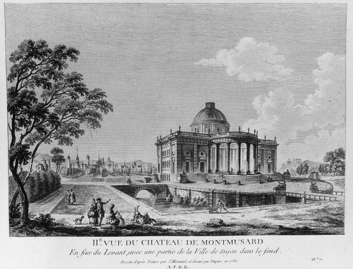 Photo du Monument Historique Château de Montmusard situé à Dijon