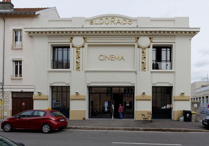 Photo du Monument Historique Cinéma Eldorado situé à Dijon