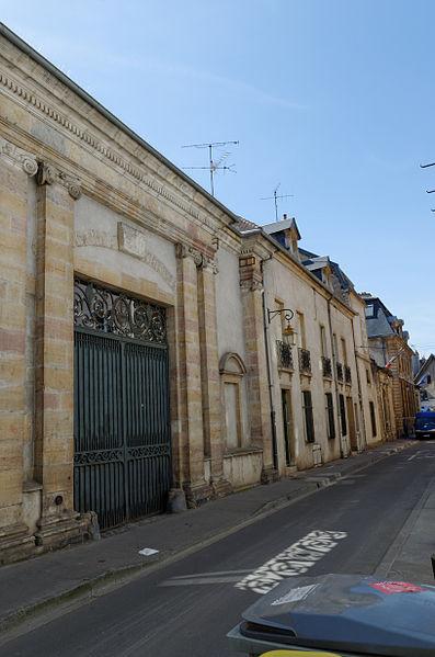 Photo du Monument Historique Couvent des Carmes, puis de la Visitation situé à Dijon