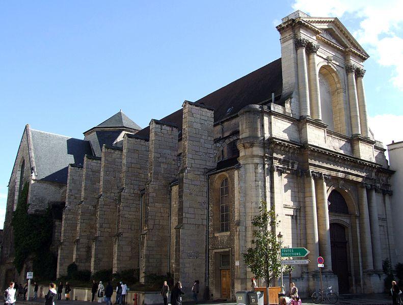 Photo du Monument Historique Eglise Saint-Etienne situé à Dijon