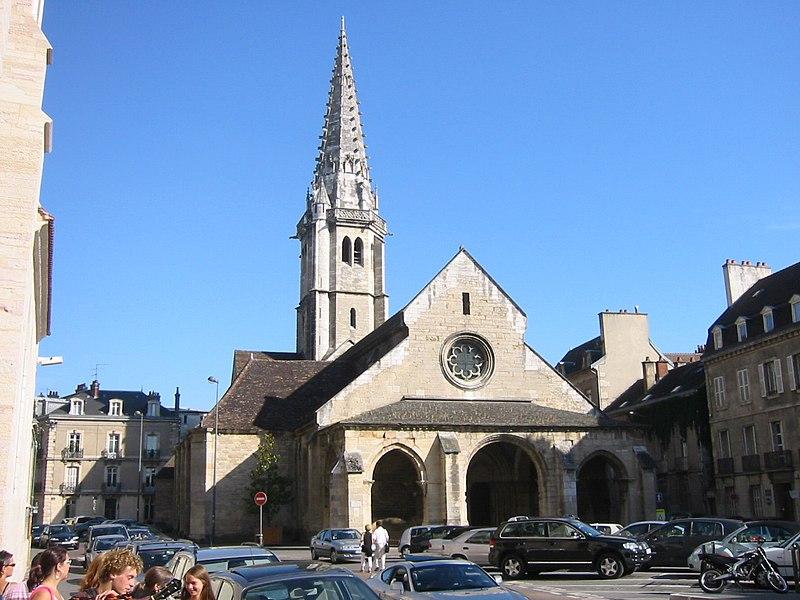 Photo du Monument Historique Eglise Saint-Philibert situé à Dijon