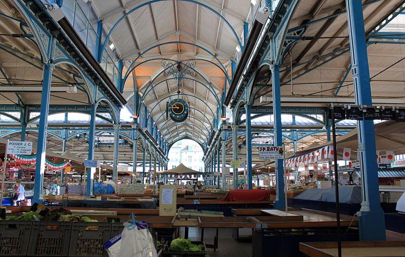 Photo du Monument Historique Halles du marché situé à Dijon