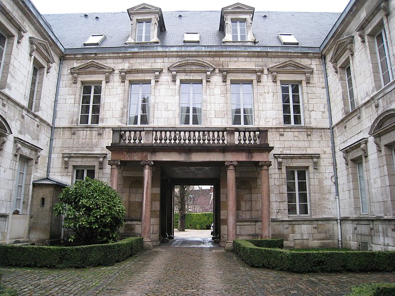 Photo du Monument Historique Hôtel des Barres situé à Dijon