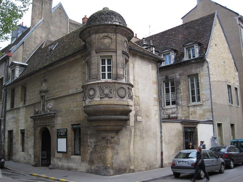 Photo du Monument Historique Hôtel de Berbis situé à Dijon