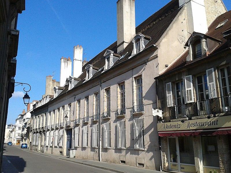 Photo du Monument Historique Hôtel Berbis de Longecourt situé à Dijon