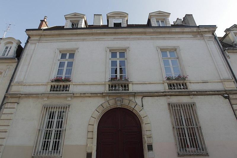 Photo du Monument Historique Hôtel Berbisey situé à Dijon