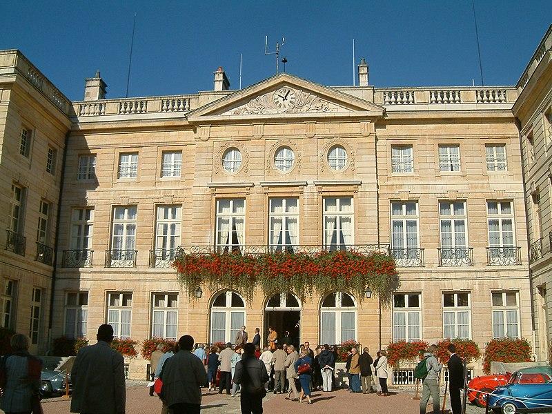 Photo du Monument Historique Hôtel Bouhier de Lantenay  , actuellement préfecture de Côte-d'Or situé à Dijon