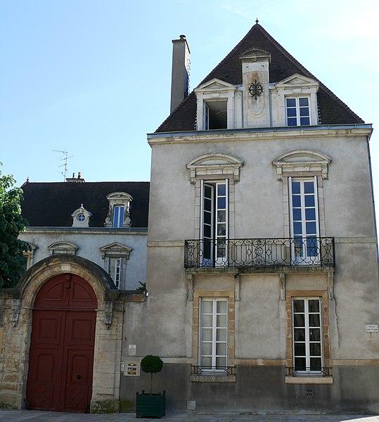 Photo du Monument Historique Hôtel Bouhier (petit) situé à Dijon