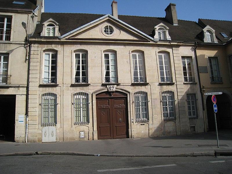 Photo du Monument Historique Hôtel Brûlart situé à Dijon