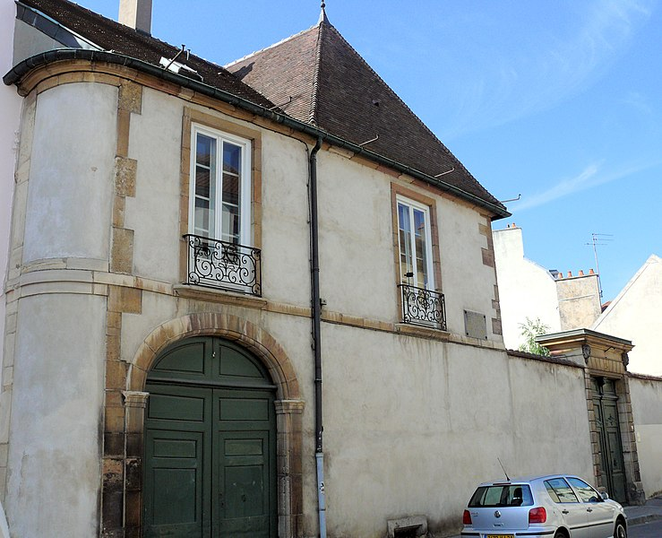 Photo du Monument Historique Hôtel Buffon situé à Dijon