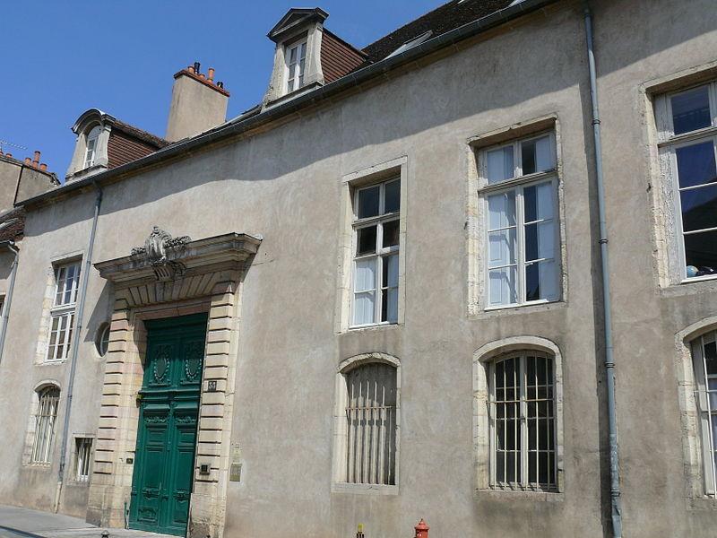 Photo du Monument Historique Hôtel Coeurderoy situé à Dijon