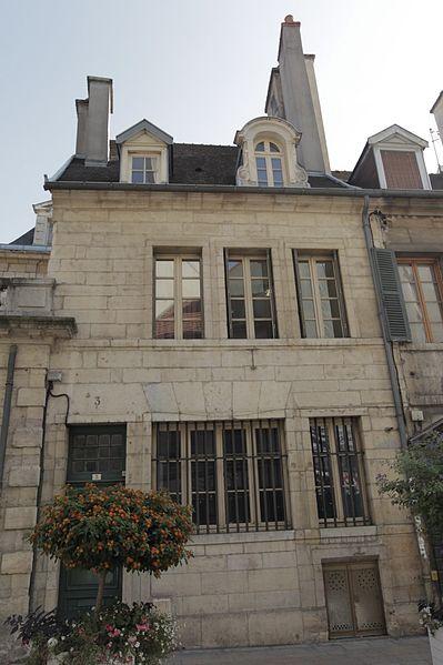 Photo du Monument Historique Hôtel d'Esterno situé à Dijon