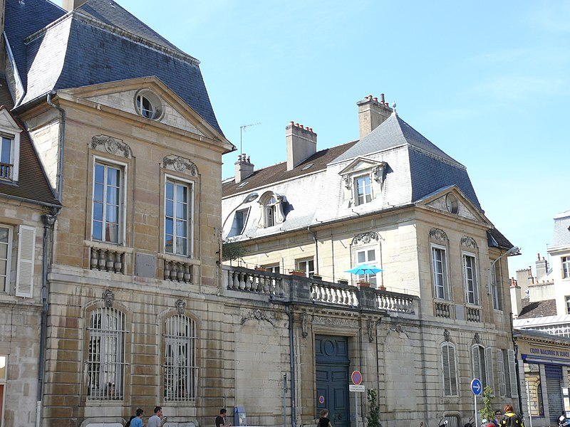 Photo du Monument Historique Hôtel Fevret de Saint-Mesmin situé à Dijon