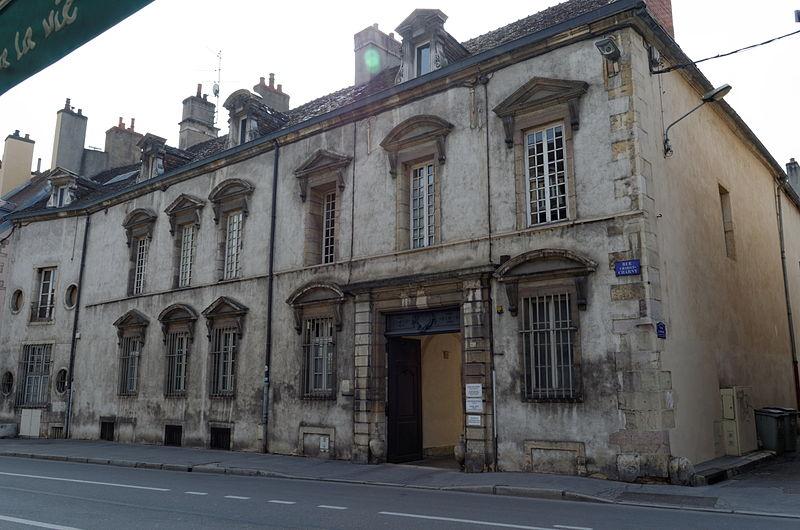 Photo du Monument Historique Hôtel Frantin situé à Dijon