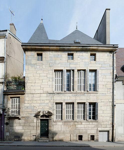 Photo du Monument Historique Hôtel Gruère situé à Dijon