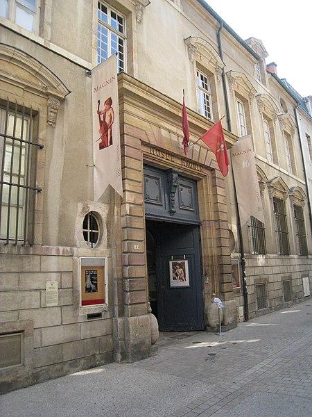 Photo du Monument Historique Hôtel Lantin, actuellement musée Magnin situé à Dijon