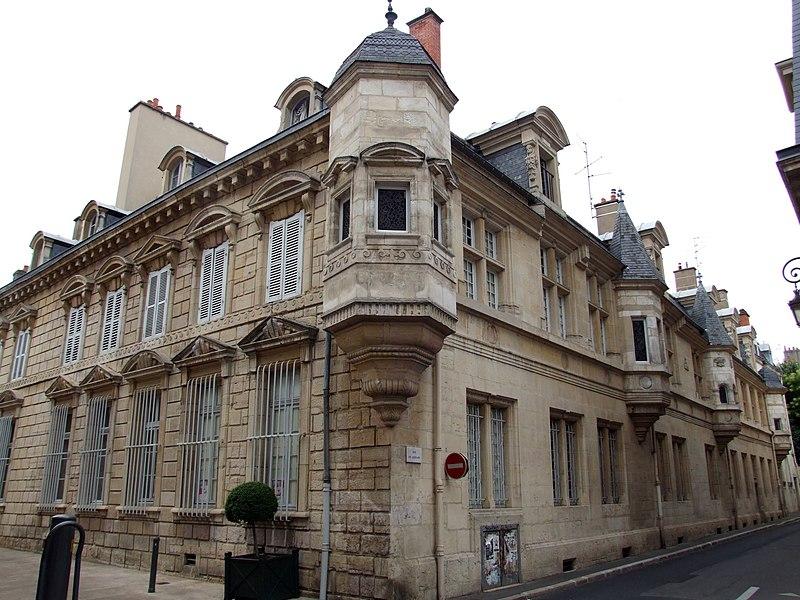 Photo du Monument Historique Hôtel Legouz de Gerland situé à Dijon